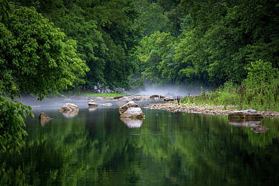 Photograph - Misty Morning On The River by Allin Sorenson