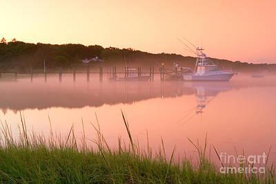Misty Morning Osterville Cape Cod Art Print by Matt Suess