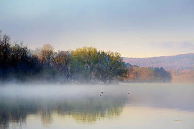Photograph - Misty Morning Sunrise by Christina Rollo