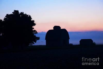 Photograph - Misty Morning Sunrise by Kathy M Krause