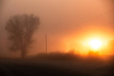 Photograph - Misty Morning by Todd Klassy