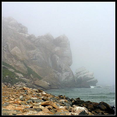 Misty Morro Bay Art Print