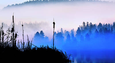 Photograph - Misty Mountain Hop by John Poon