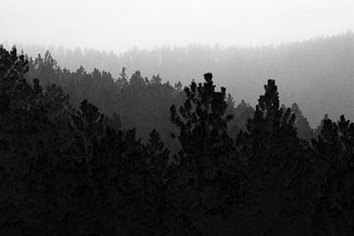 Photograph - Misty Mountain Morning by Marie Leslie