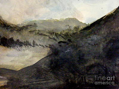 Painting - Misty Mountain by Nancy Kane Chapman