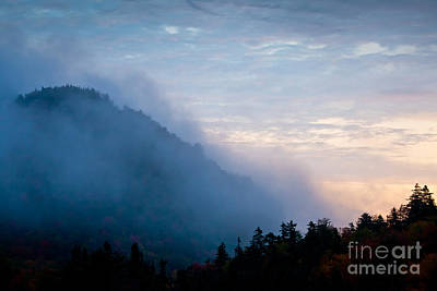 Photograph - Misty Mountain by Susan Cole Kelly