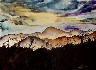 Painting - Misty Mountains by Lil Taylor