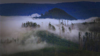 Photograph - Misty Mountains by Tim Nichols