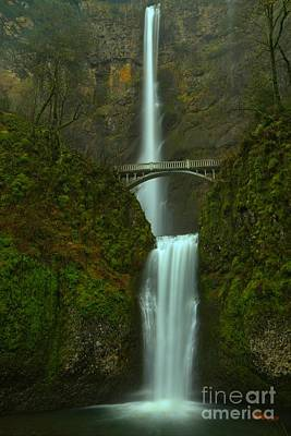 Photograph - Misty Multnomah by Adam Jewell