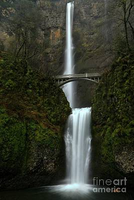 Photograph - Misty Multnomah Afternoon by Adam Jewell
