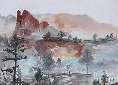 Painting - Misty by Nila Jane Autry