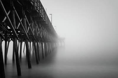 Misty November Morning II Art Print