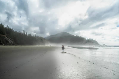 Photograph - Misty Short Sands Beach In Oregon by Kay Brewer