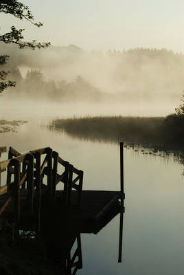 Photograph - Misty Oregon Morning by Renee Hong