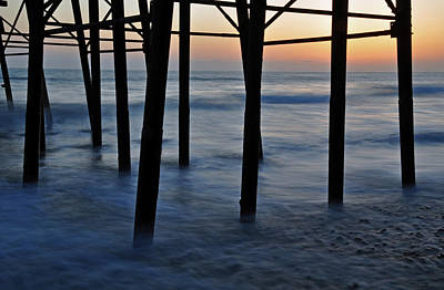 San Diego Photograph - Misty Pier by Kelly Wade