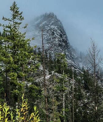 Photograph - Misty Pinnacle by Jason Brooks