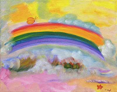 Painting - Misty Rainbow by Meryl Goudey