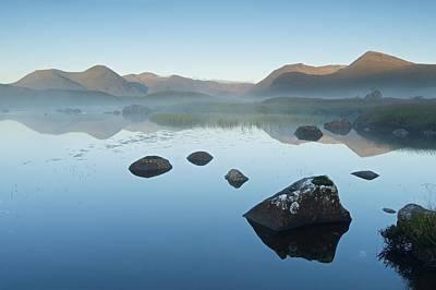 Photograph - Misty Rannoch Moor by Stephen Taylor