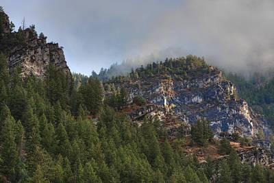 Photograph - Misty Ridge by David Andersen