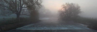 Photograph - Misty River Nene by Nick Atkin