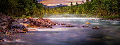 Photograph - Misty River by Thomas Nay