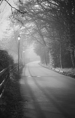 Photograph - Misty Road To Royden by Spikey Mouse Photography