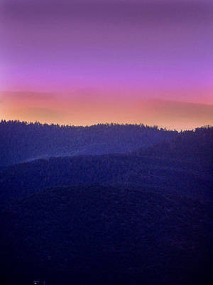 Art Print featuring the photograph Misty Rockies Sunrise by Rod Seel