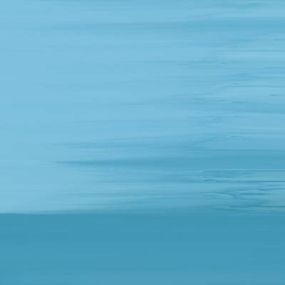 Square Format Art Painting - Misty Sea by Frank Tschakert