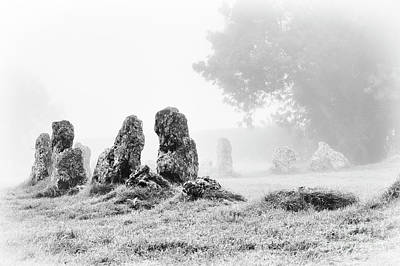 Neolithic Photograph - Misty Stones by Tim Gainey