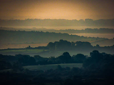 Photograph - Misty Summer Irish Morning by James Truett