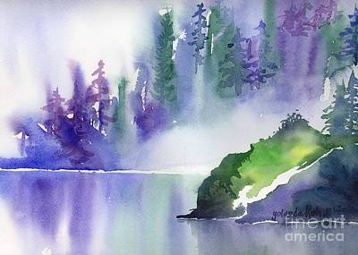 Painting - Misty Summer by Yolanda Koh