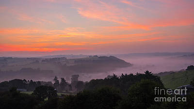 Photograph - Misty Sunrise by Chris Thaxter