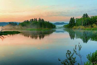 Photograph - Misty Sunrise IIi by Dee Browning