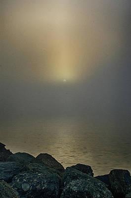 Photograph - Misty Sunrise Morning by Joseph Hollingsworth
