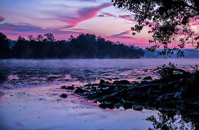 Photograph - Misty Sunrise Palette by Suzanne Stout