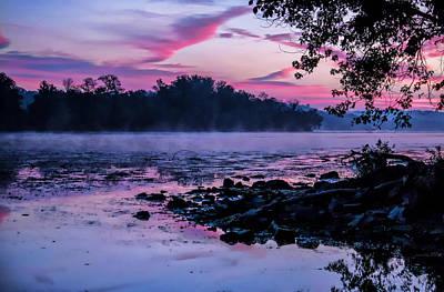 Photograph - Misty Sunrise Palette by Suzanne Stout