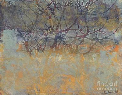 Painting - Misty Trees by Laurel Englehardt