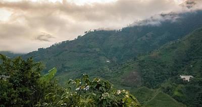Valentines Day - Misty Valley Near Cajamarca Colombia by Adam Rainoff