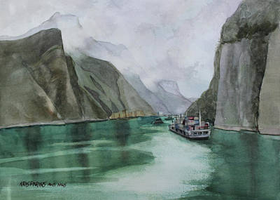 Painting - Misty Voyage by Kris Parins