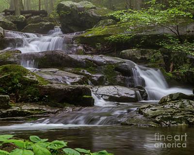 Photograph - Misty Waterfall by Blaine Blasdell