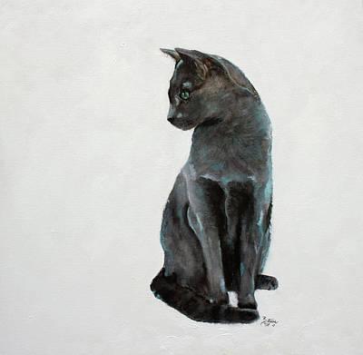 Painting - Misty's Portrait by Barbie Batson