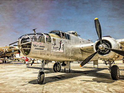 Photograph - Mitchell B-25 Bomber Pacific Princess by Sandra Selle Rodriguez