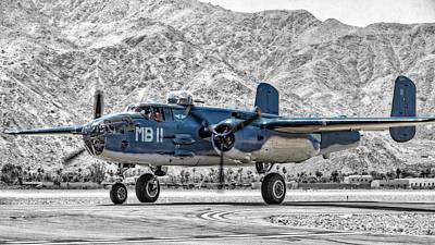 Photograph - Mitchell B-25 Pbj by Sandra Selle Rodriguez