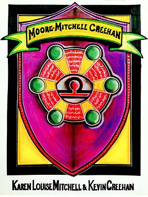 Painting - Mitchell-creehan Ancestral Healing Family Crest by Ahonu