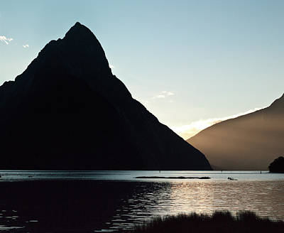 Photograph - Mitre Peak Milford Sound New Zealand by Odille Esmonde-Morgan