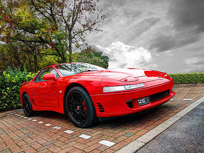 Photograph - Mitsubishi 3000gt by Gill Billington