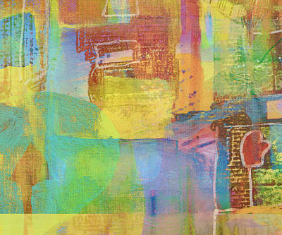 Digital Art - Mitten Abstract by Susan Stone