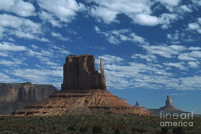 Photograph - Mitten Under A Perfect Sky by Stan and Anne Foster
