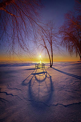 Photograph - Mitten Weather by Phil Koch