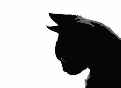 Devon Rex Cat Painting - Mitzi Kitty by Glennis Siverson